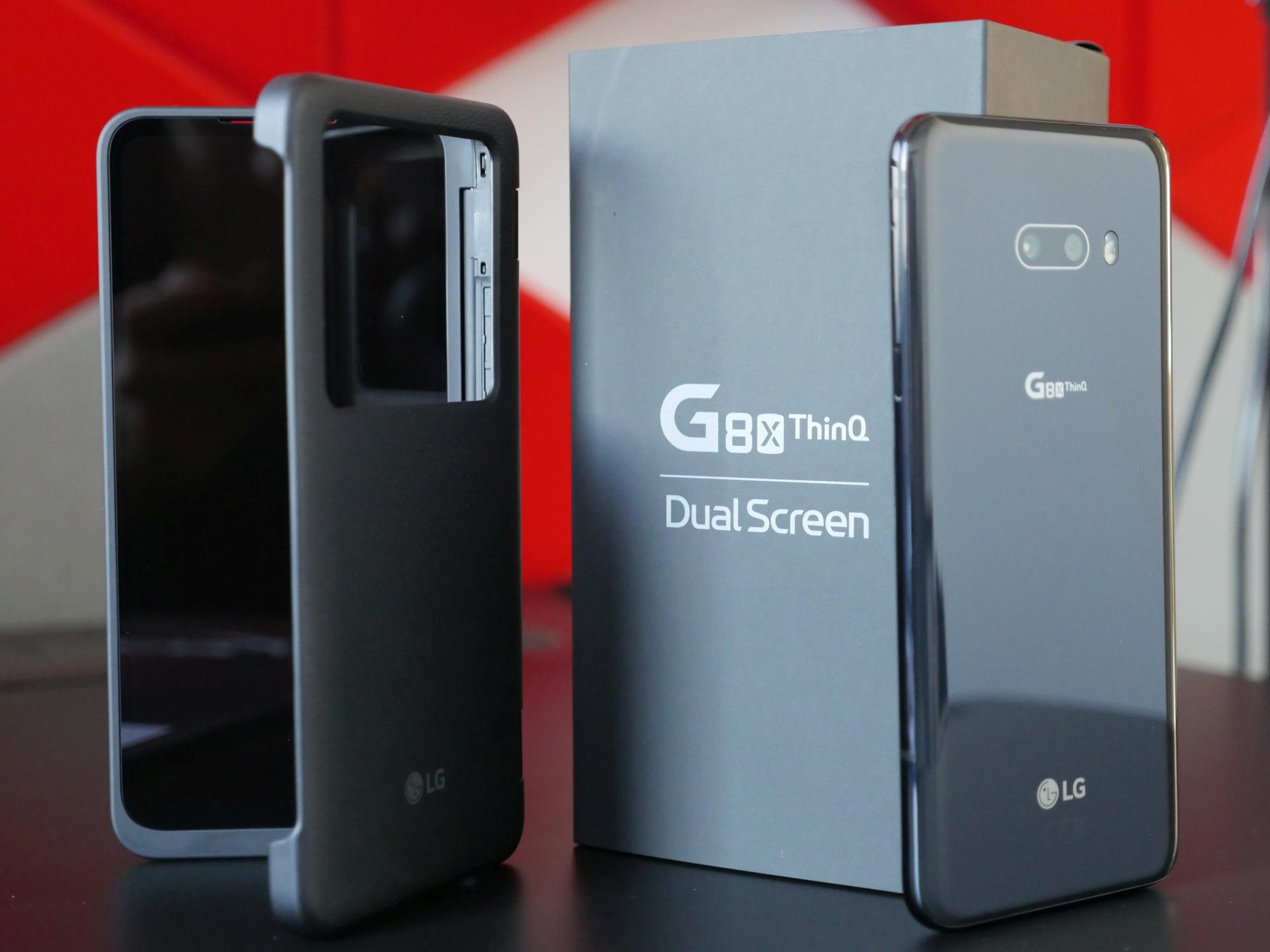 Smartfon inny niż wszystkie. Co daje dodatkowy ekran w LG G8X?