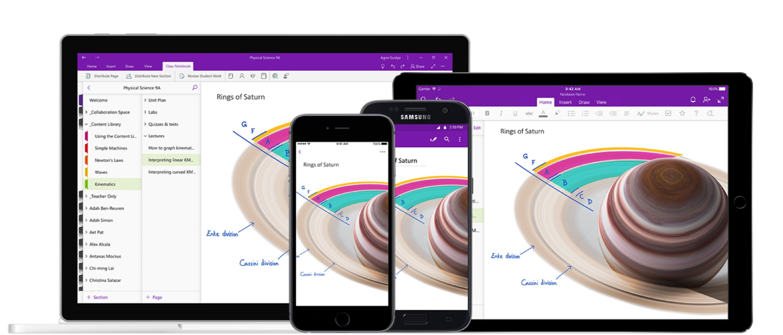 Przyszłość OneNote to jedna wielka integracja, choć aplikację na Windows 10 kilka rzeczy ominie