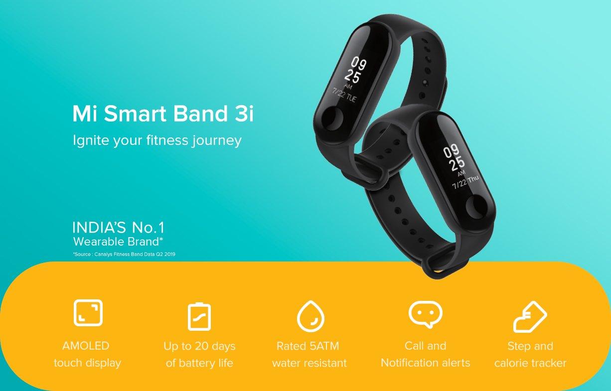 opaska Xiaomi Mi Smart Band 3i