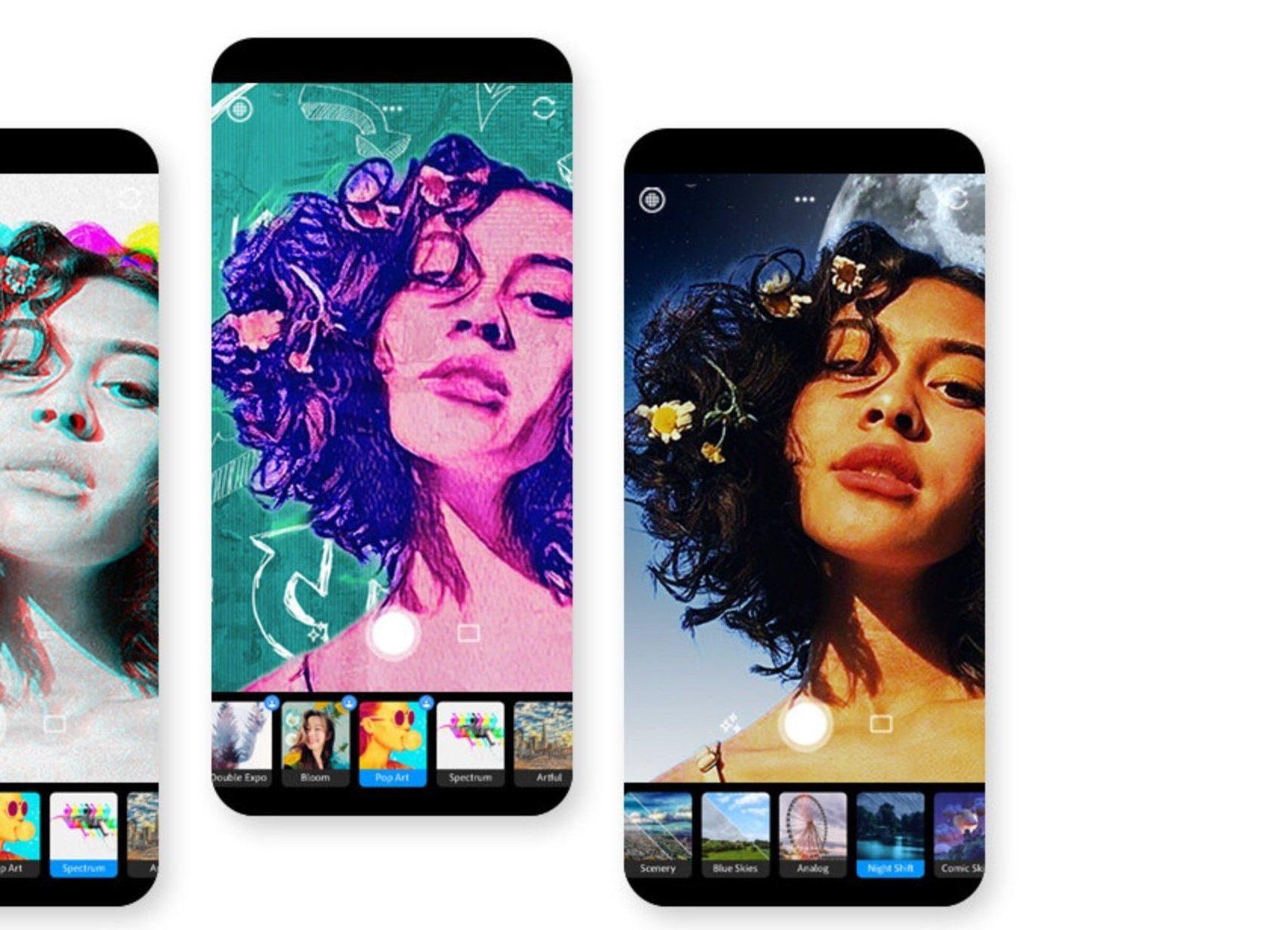 Adobe Photoshop Camera umożliwi tworzenie wykręconych grafik na smartfonie