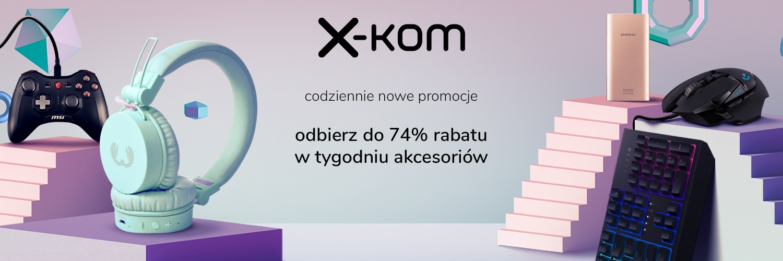 akcesoria promocja x-kom