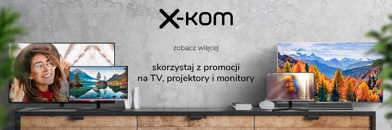 telewizor monitor rzutnik promocja x-kom