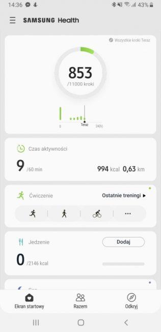 Samsung Health - aplikacja, która pomaga być fit 17