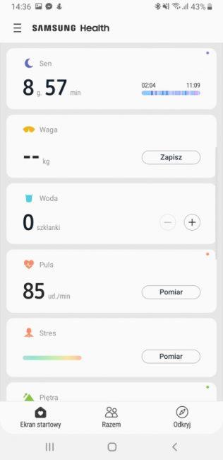 Samsung Health - aplikacja, która pomaga być fit 18