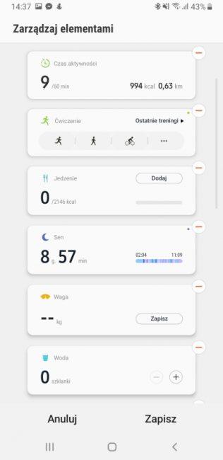 Samsung Health - aplikacja, która pomaga być fit 20