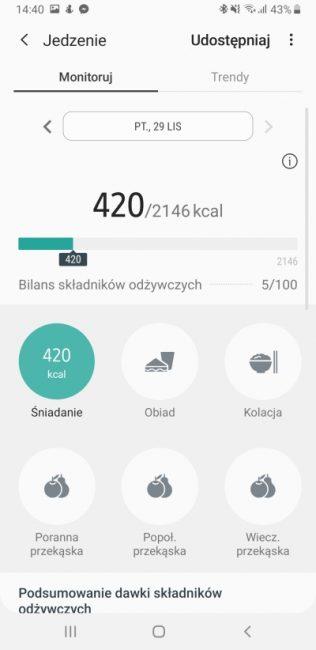 Samsung Health - aplikacja, która pomaga być fit 30