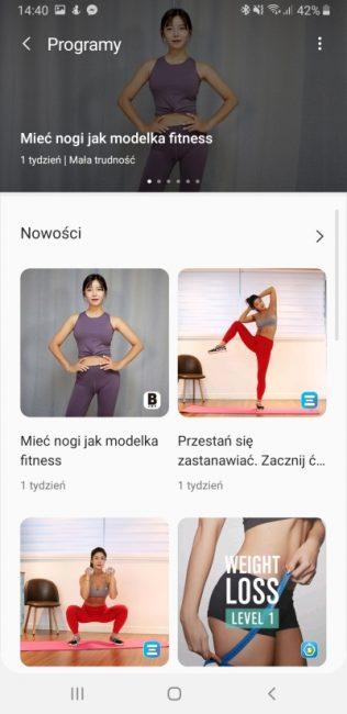 Samsung Health - aplikacja, która pomaga być fit 38