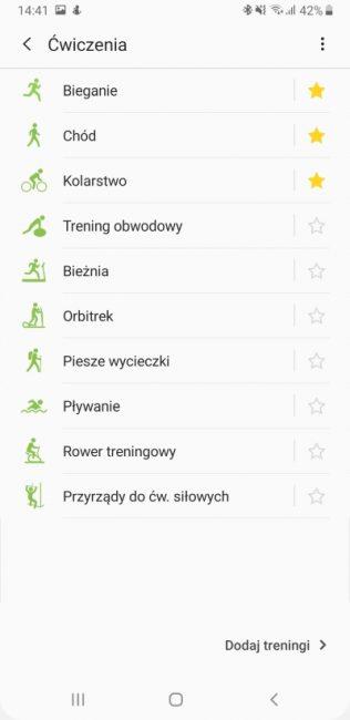 Samsung Health - aplikacja, która pomaga być fit 33