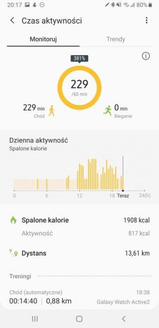 Samsung Health - aplikacja, która pomaga być fit 35
