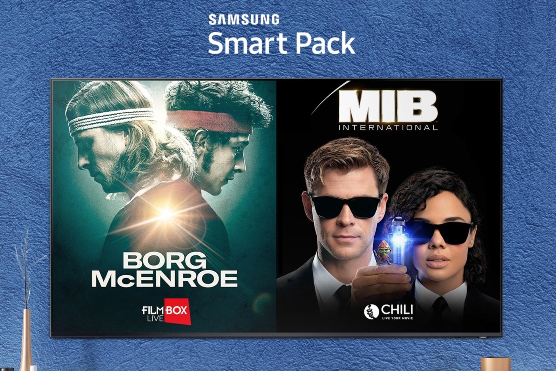 Smart Pack od Samsunga - darmowy miesiąc z dobrym kinem na Smart TV