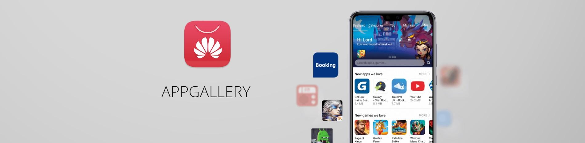sklep z aplikacjami Huawei AppGallery