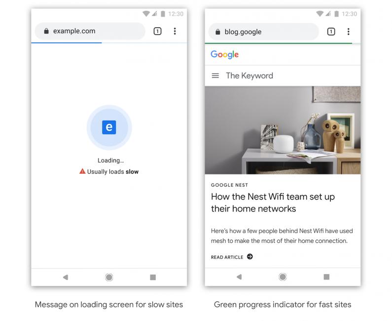 Google planuje oznaczać powolne strony internetowe