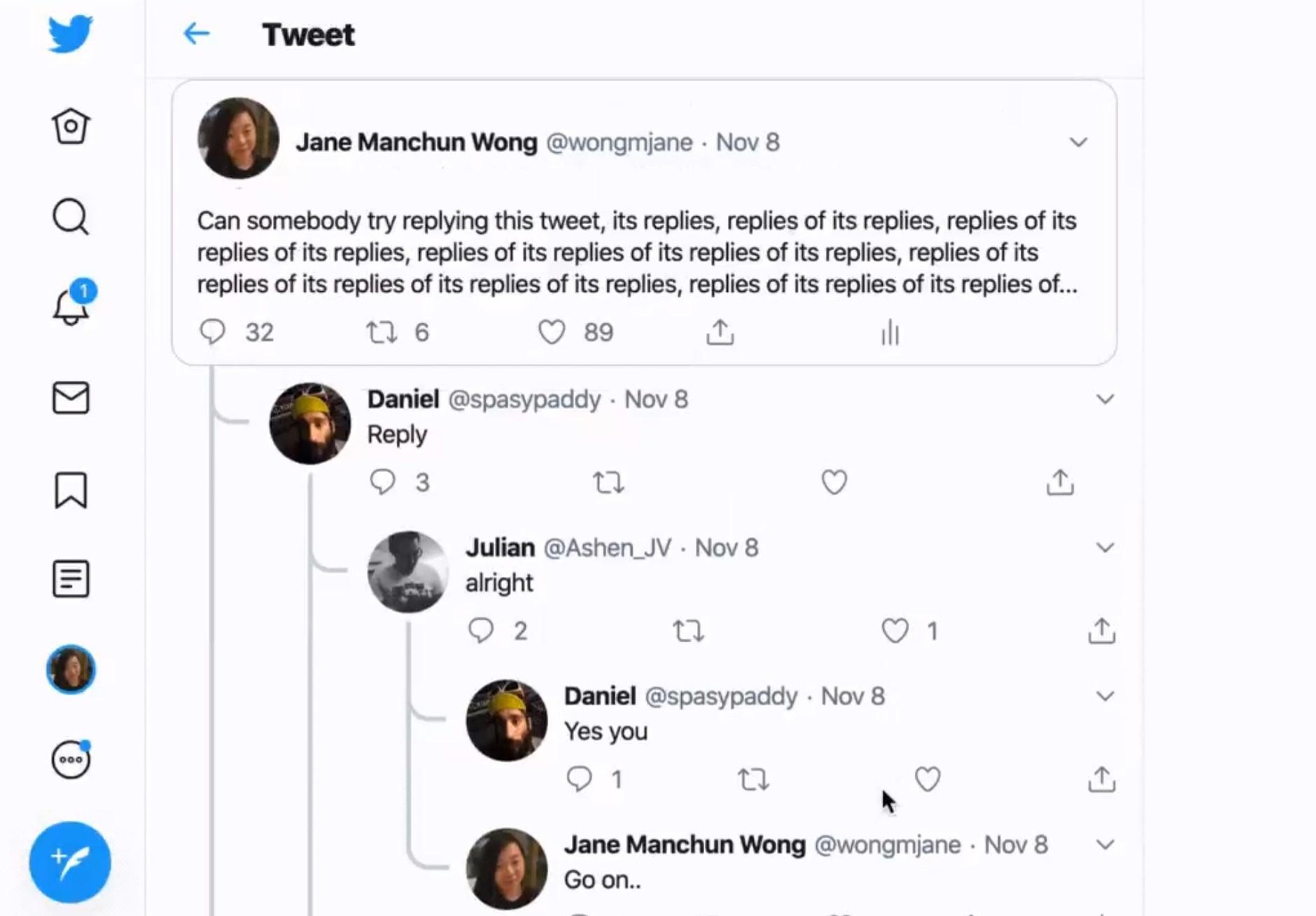 Hej #Twitter, przyzwyczajaj się do widoku drzewek w konwersacjach