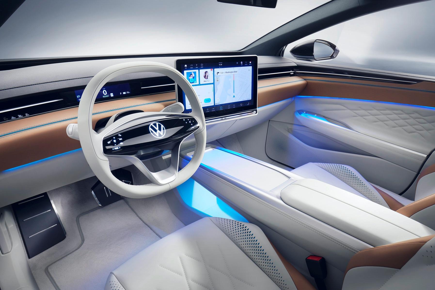 Volkswagen ID. SPACE VIZZION – elektryczne kombi, które może się podobać