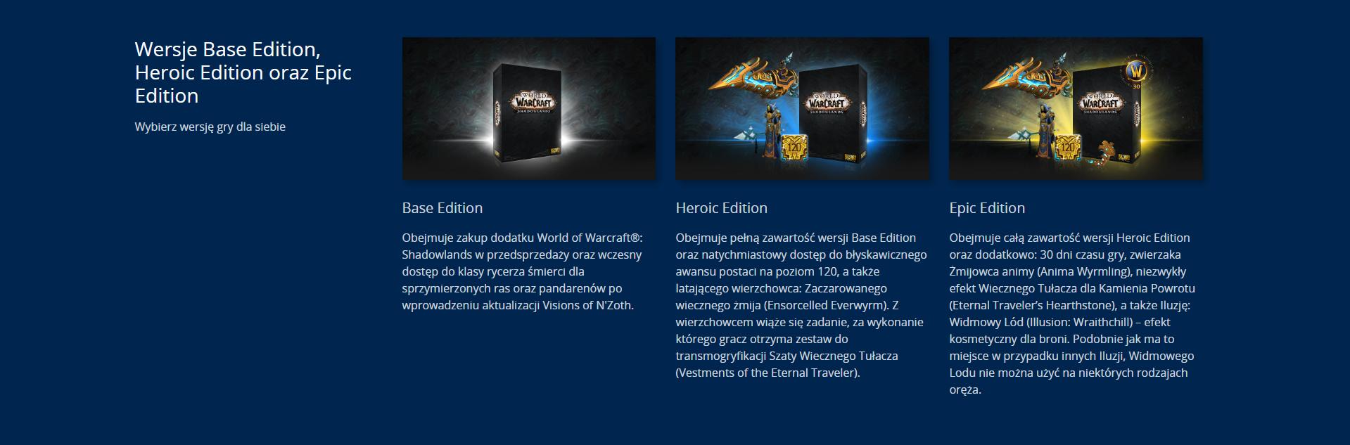 World of Warcraft: Shadowlands już w przedsprzedaży. Nadchodzi nowy dodatek do WoW-a