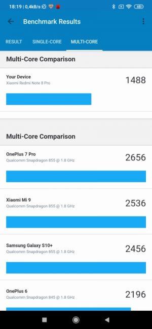 Recenzja Xiaomi Redmi Note 8 Pro. W tej cenie nie brałbym innego! 87 Xiaomi Redmi Note 8 Pro