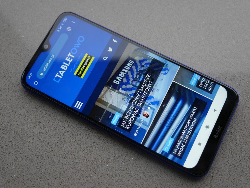 Redmi Note 8T oficjalnie - polskie ceny i namiastka pierwszych wrażeń