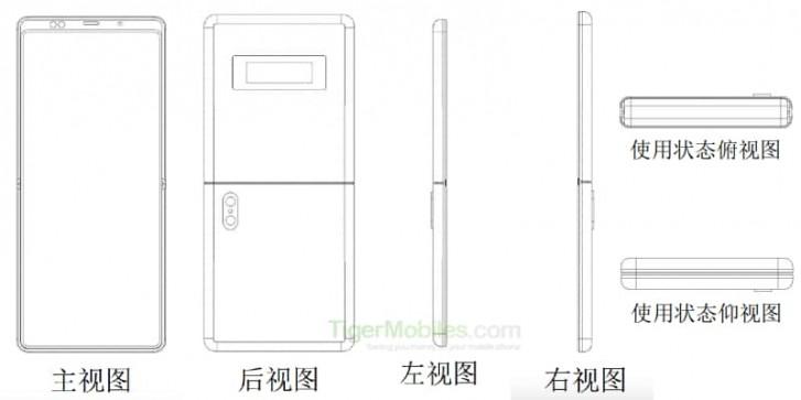 Teraz wszystkie składane smartfony będą kopiami Motoroli razr. Xiaomi ma podobny patent