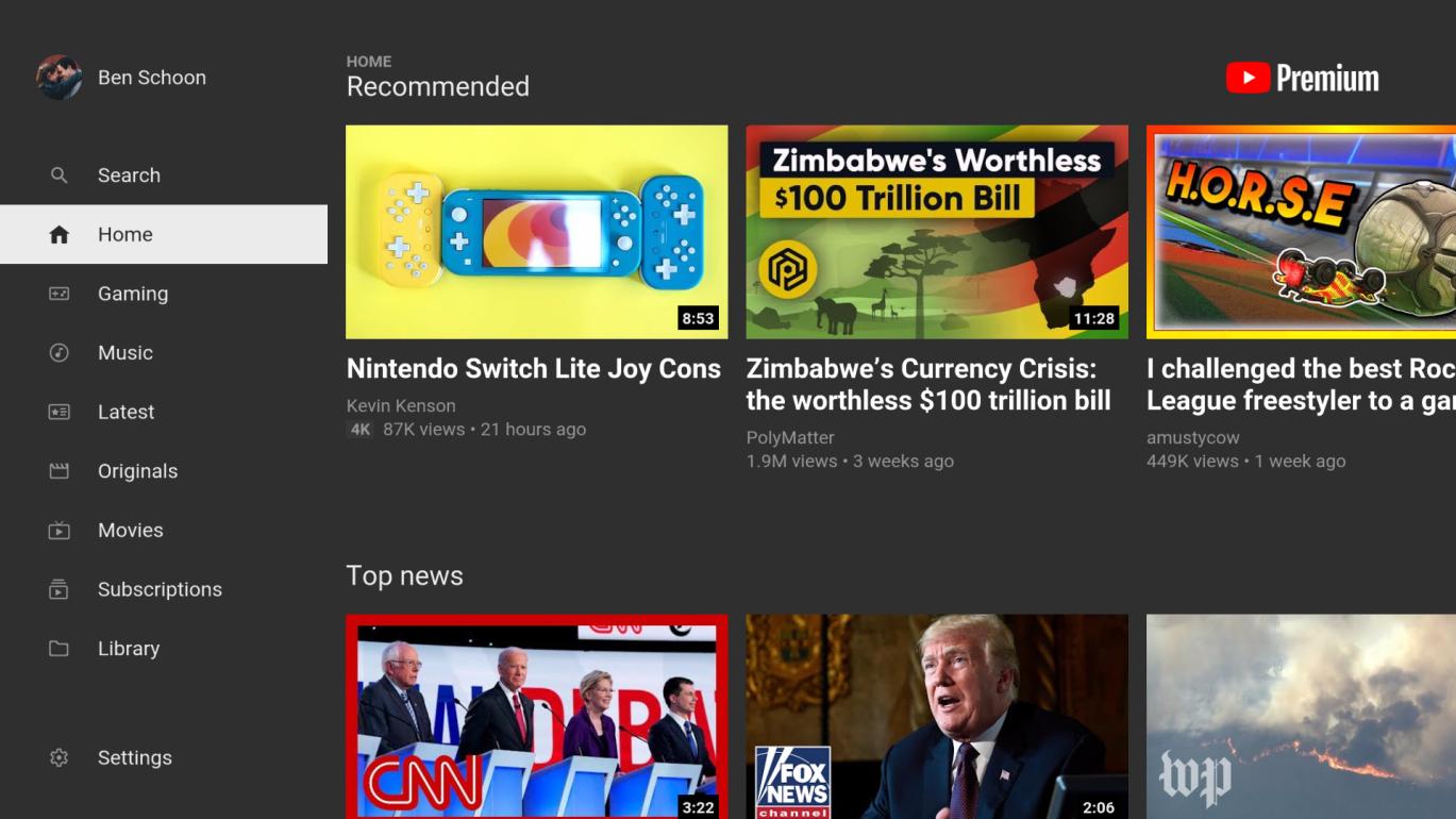 Masz Android TV? To powinieneś już mieć odświeżonego YouTube'a 19