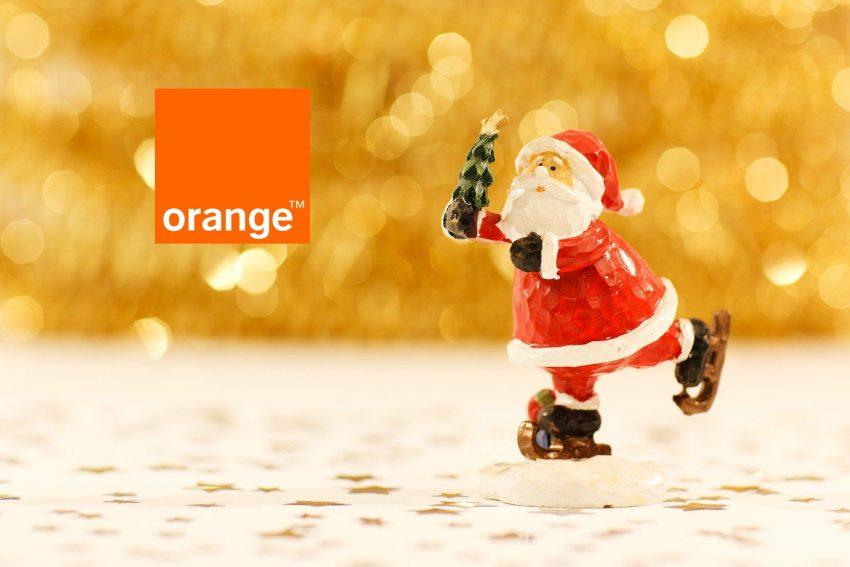 Święty Mikołaj Orange logo