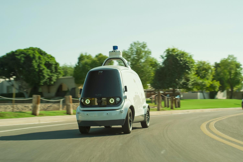 Autonomiczne samochody dostawcze wyjadą na drogi Kalifornii