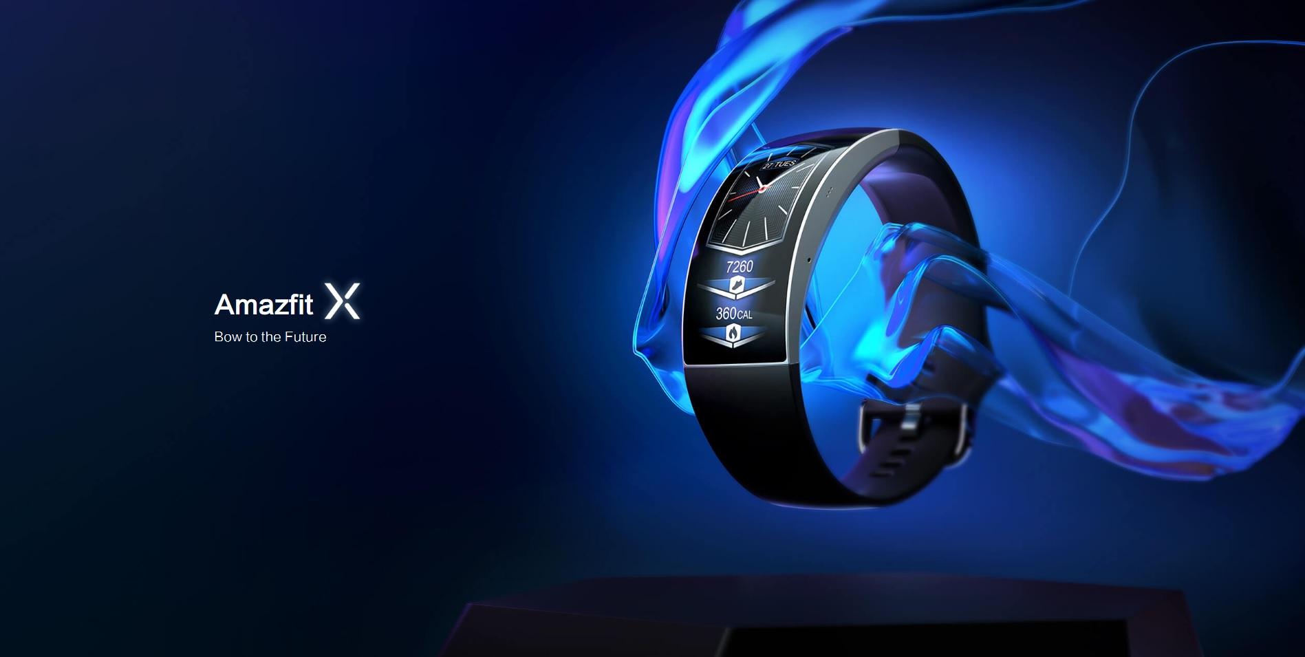 smartwatch opaska Amazfit X