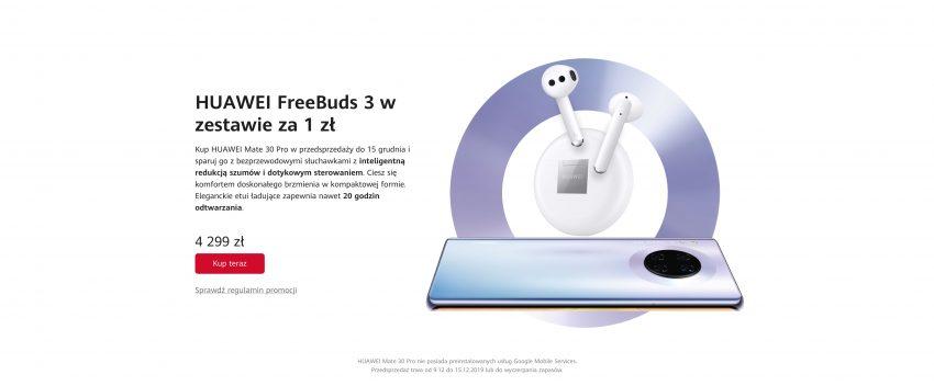Huawei Mate 30 Pro przedsprzedaż Polska