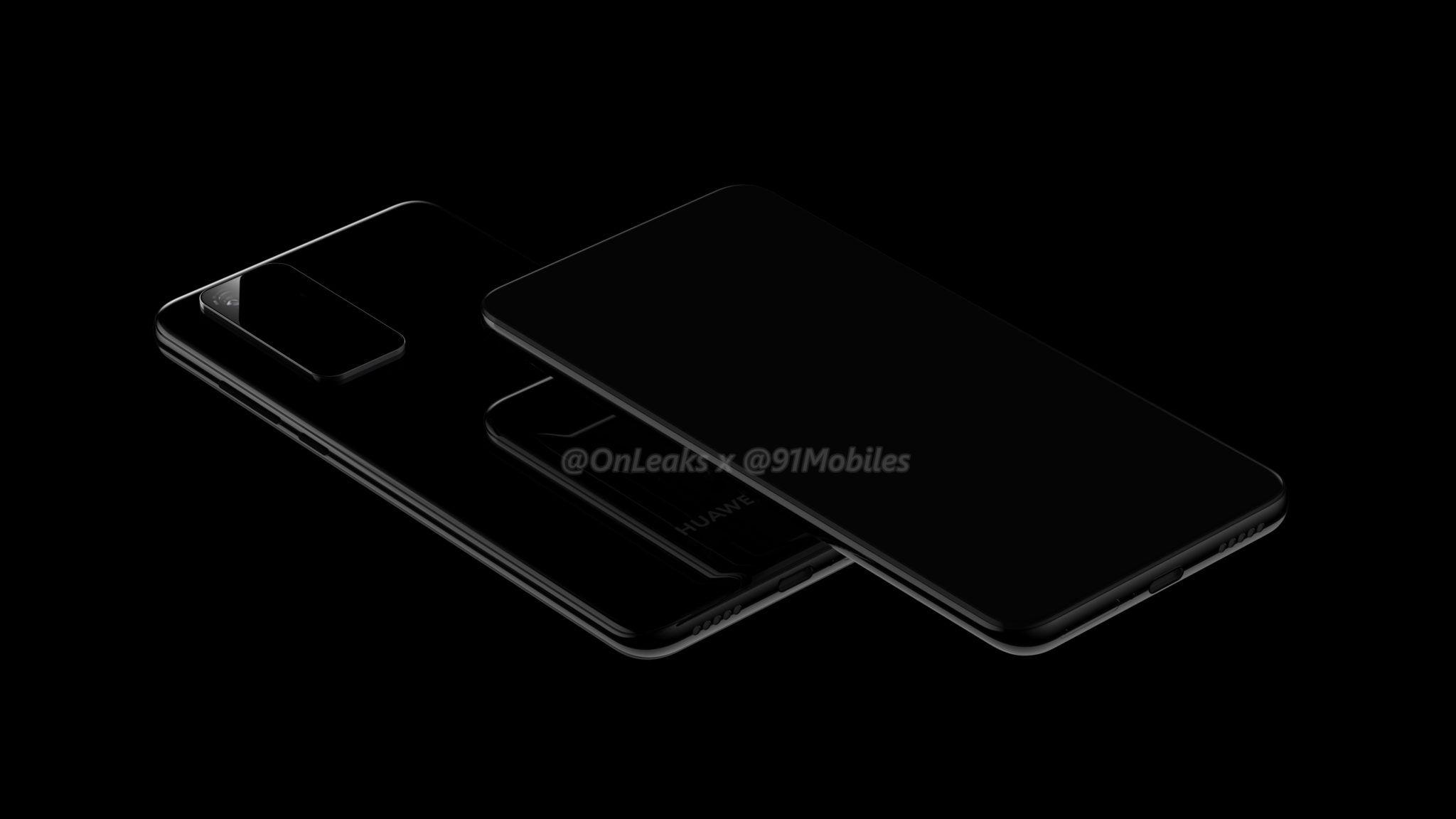 smartfon Huawei P40 render