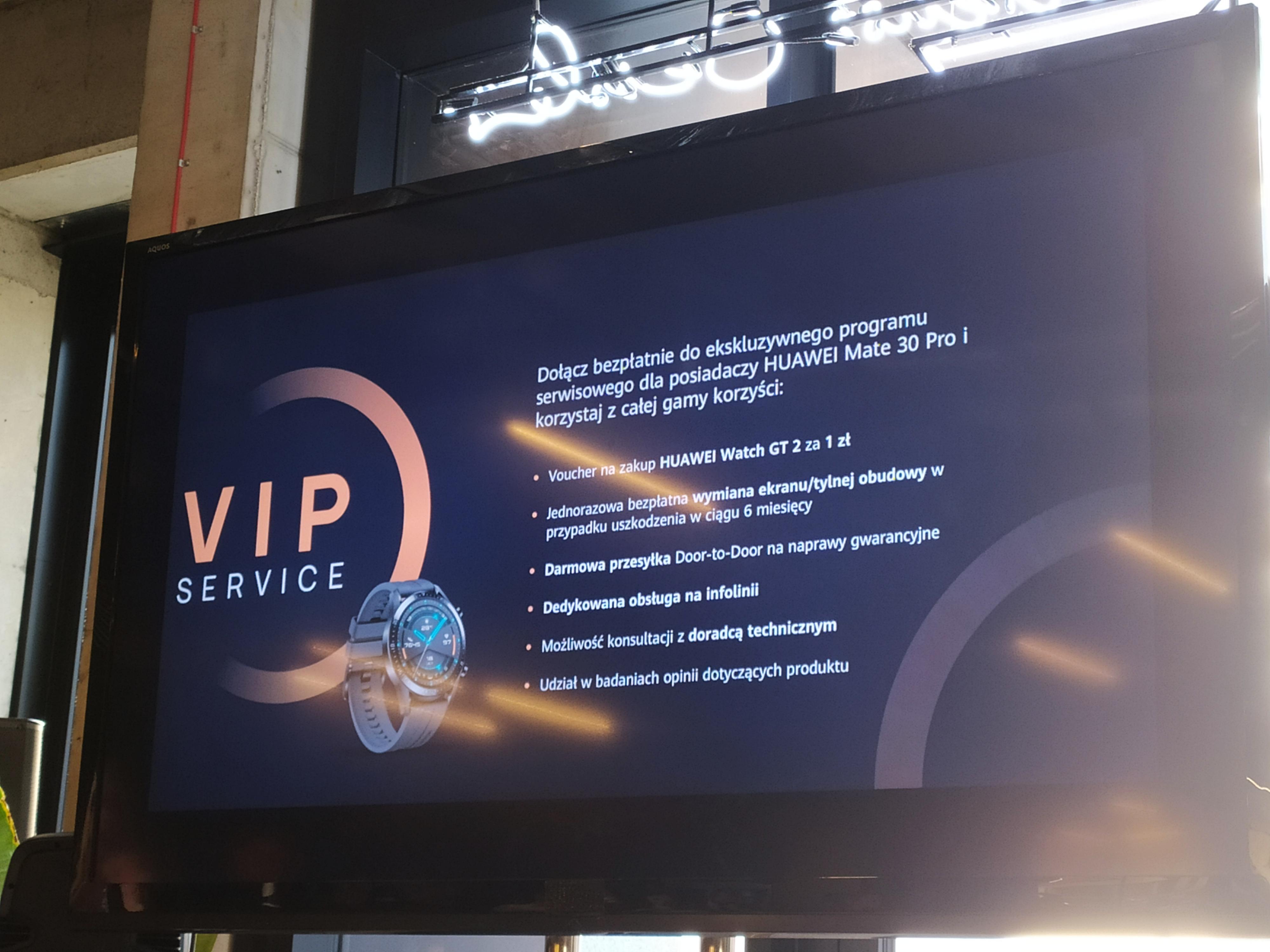 Huawei Mate 30 Pro - pakiet VIP Service