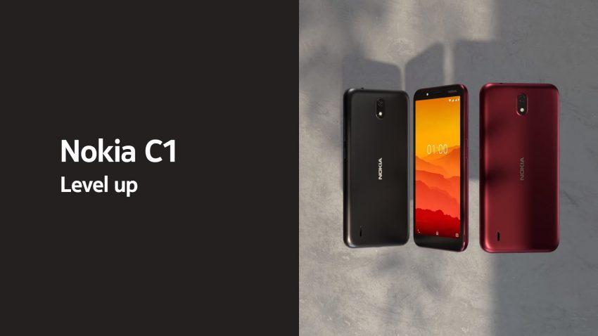 smartfon Nokia C1 Android 9 Go