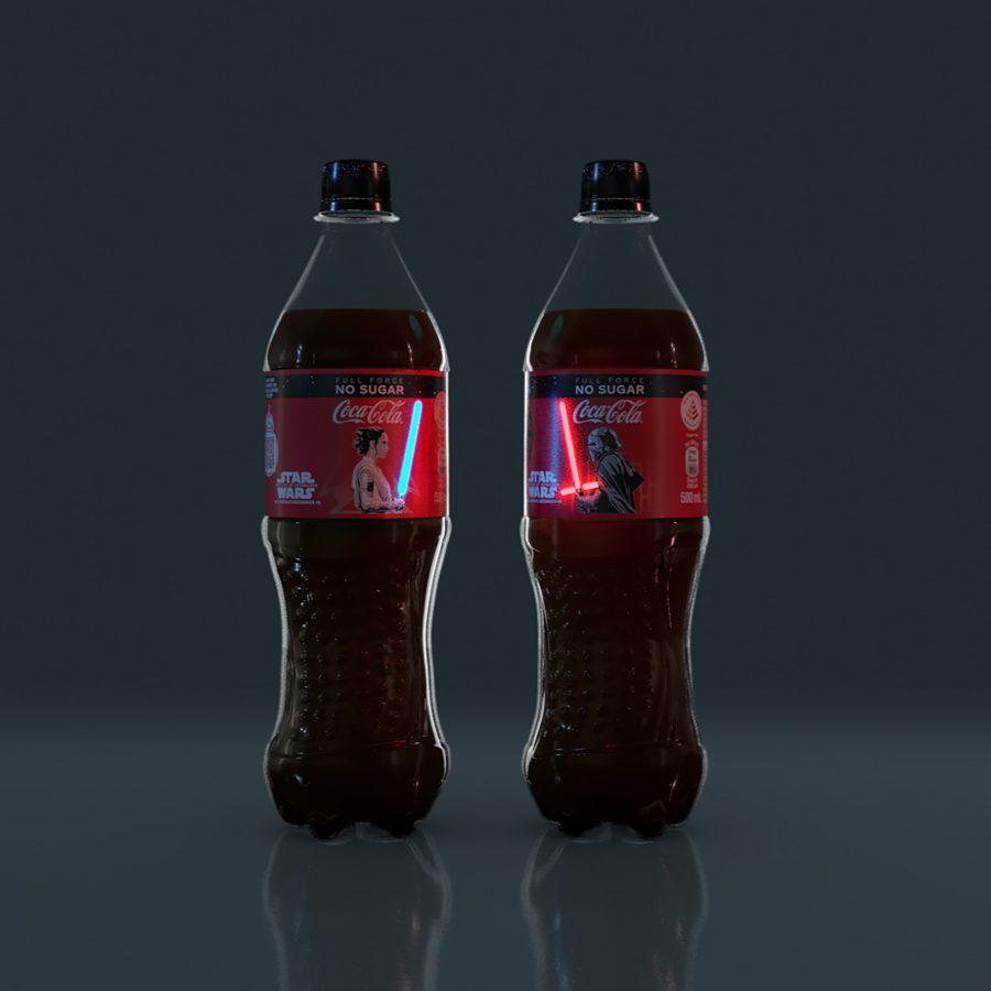 Etykiety Coca-Coli w wersji Star Wars... ze świecącymi mieczami świetlnymi! 18