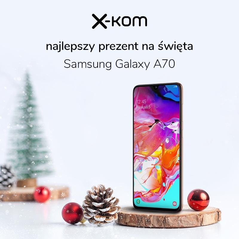 Promocja na Samsunga Galaxy A70 w x-kom dla Czytelników Tabletowo