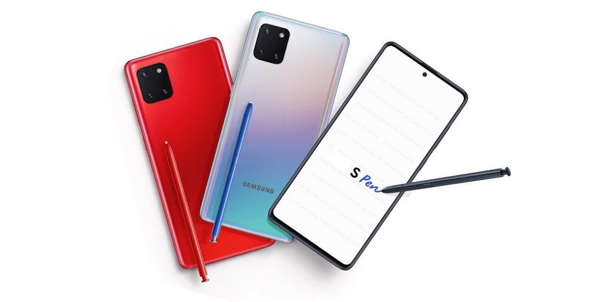 smartfon Samsung Galaxy Note 10 Lite
