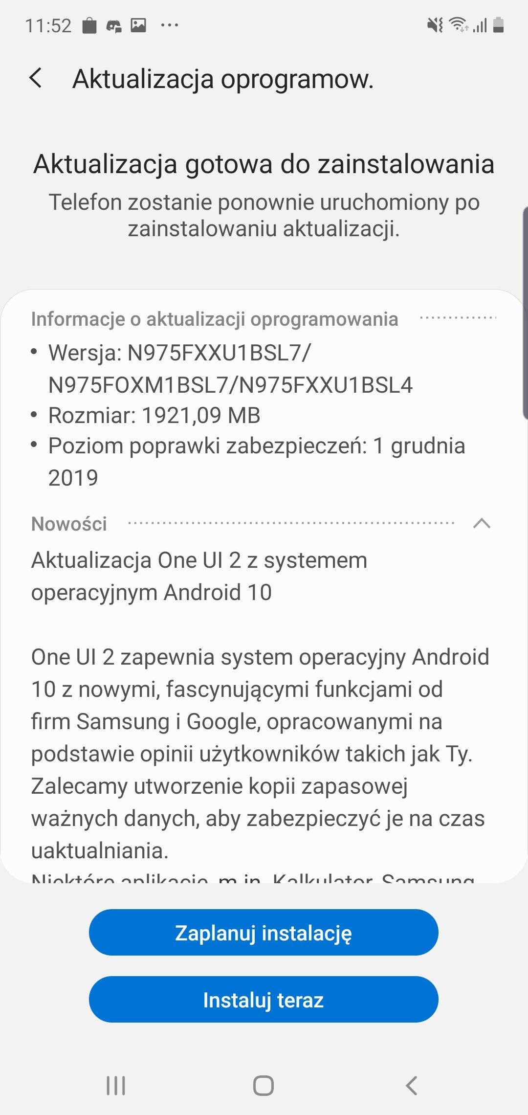 Samsung Galaxy Note 10+ dostaje aktualizację do Androida 10 i One UI 2 w Polsce! 17
