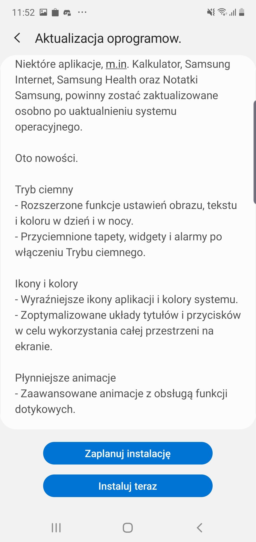 Samsung Galaxy Note 10+ dostaje aktualizację do Androida 10 i One UI 2 w Polsce! 18