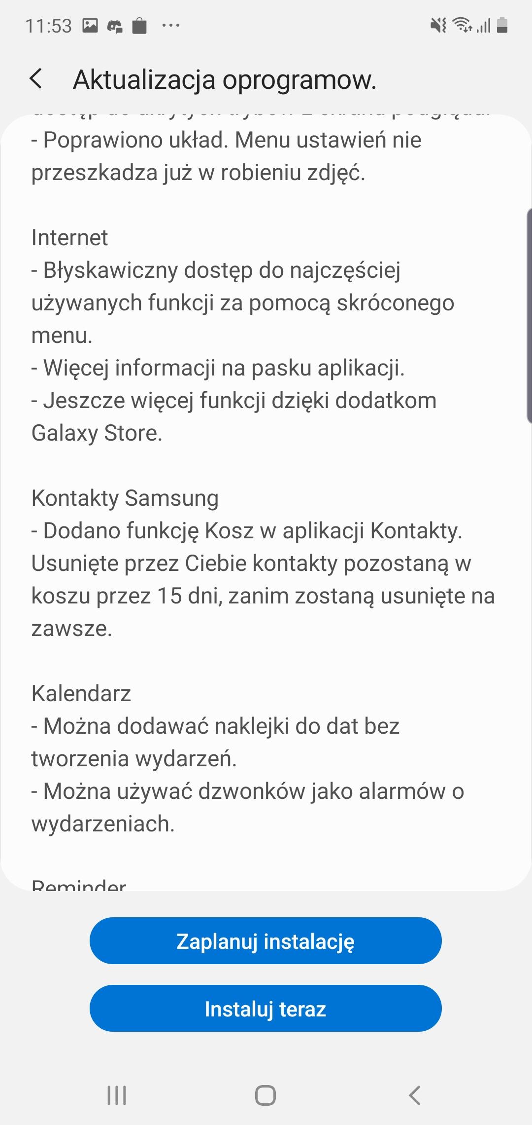Samsung Galaxy Note 10+ dostaje aktualizację do Androida 10 i One UI 2 w Polsce! 22