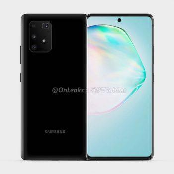 Tak będzie wyglądać Samsung Galaxy S10 Lite (a.k.a. Galaxy A91)