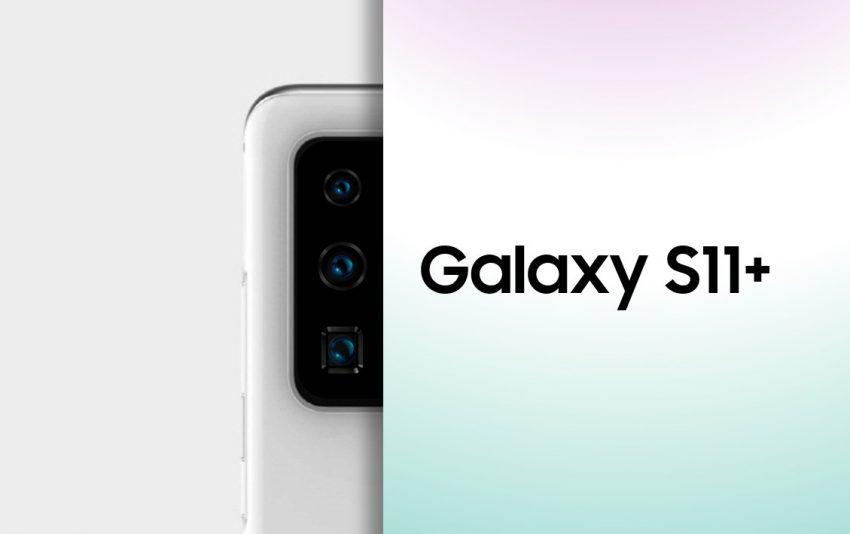 Samsung Galaxy S11+ aparat