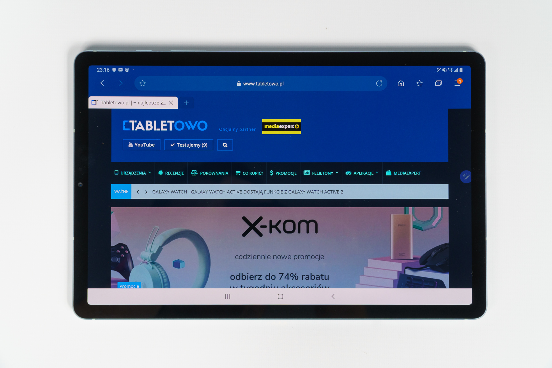 Samsung Galaxy Tab S6 - najlepszy tablet z Androidem (recenzja) 20