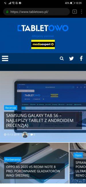 Huawei rozdaje smartfony. Wystarczy zrzut ekranu Przeglądarki, by powalczyć o P30 Pro 19