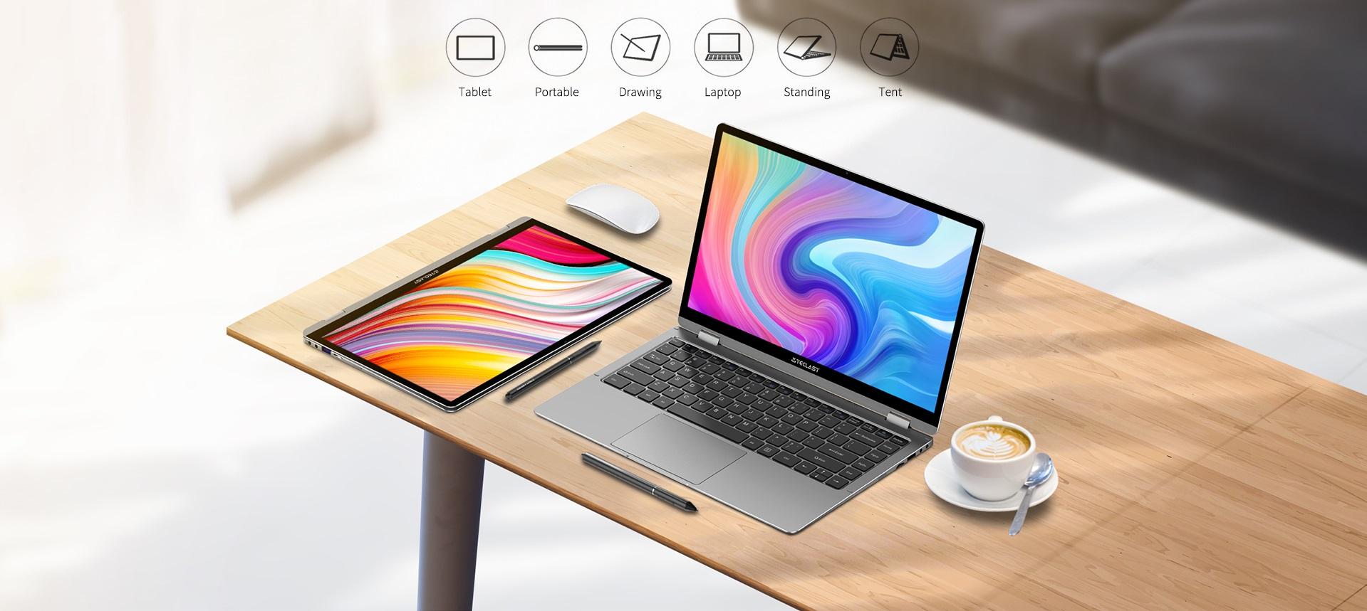 laptop konwertowalny Teclast F6 Plus