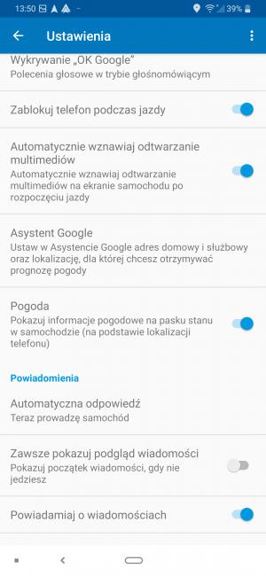 Android Auto z nowymi opcjami personalizacji menu głównego