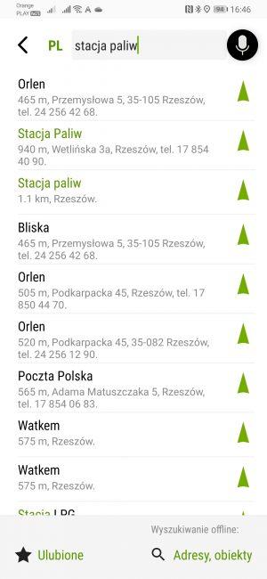 Testujemy nawigacje na Androida dostępne w Huawei AppGallery - co jeśli nie Google Maps? 22