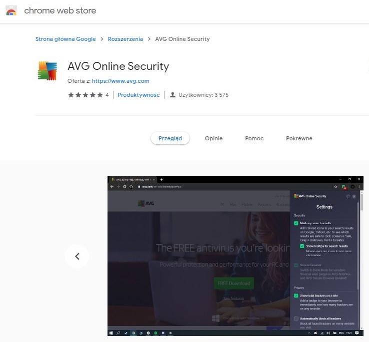 Google usuwa rozszerzenia Avast i AVG z Chrome Web Store za zbieranie zbyt dużej ilości danych