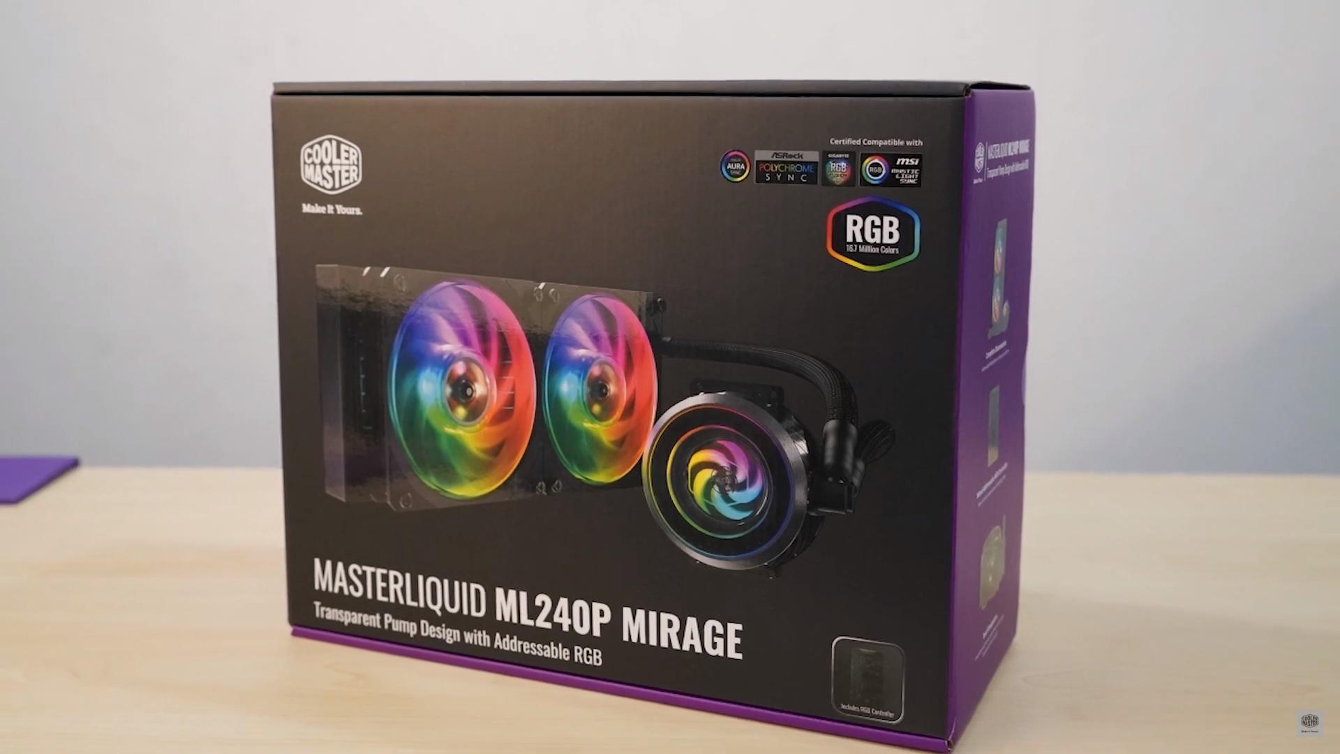 Piękno ciszy - AiO Cooler Master MasterLiquid ML240P Mirage (recenzja)