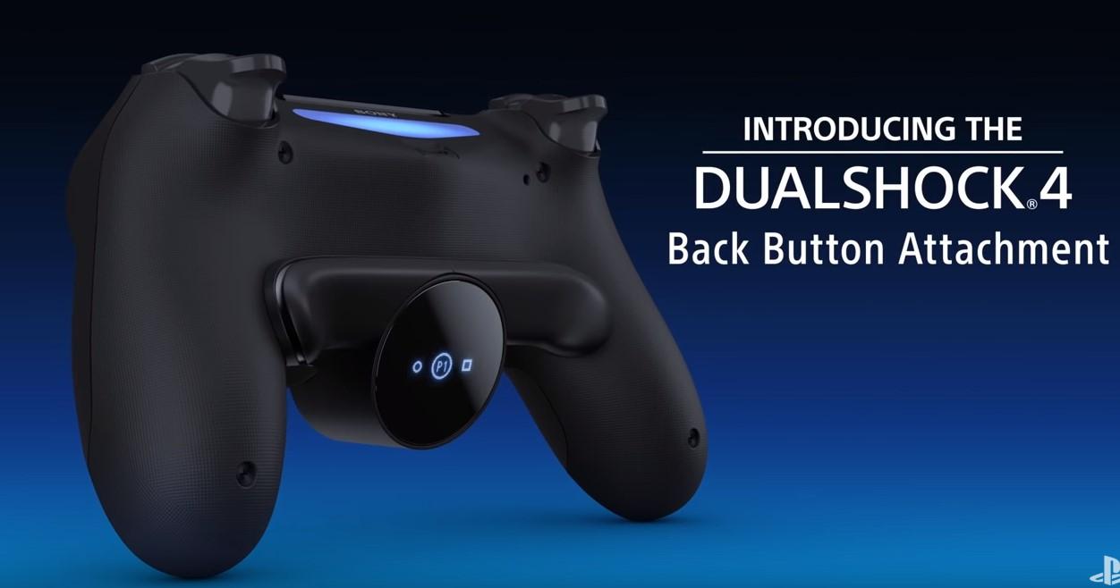 Dualshock 4 dostanie nakładkę z dwoma dodatkowymi przyciskami. O wiele za późno 21