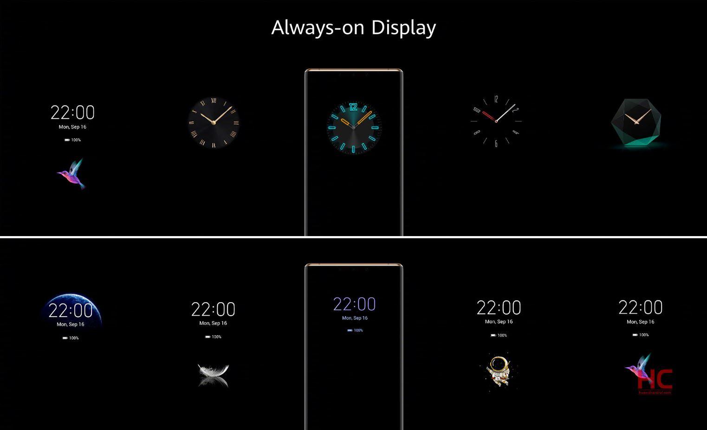 Huawei zapowiada nową wersję Always on Display dla ośmiu modeli smartfonów