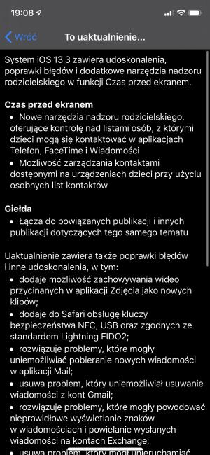 iOS 13.3 już dostępny! Apple skupia się na bezpieczeństwie dzieci 18