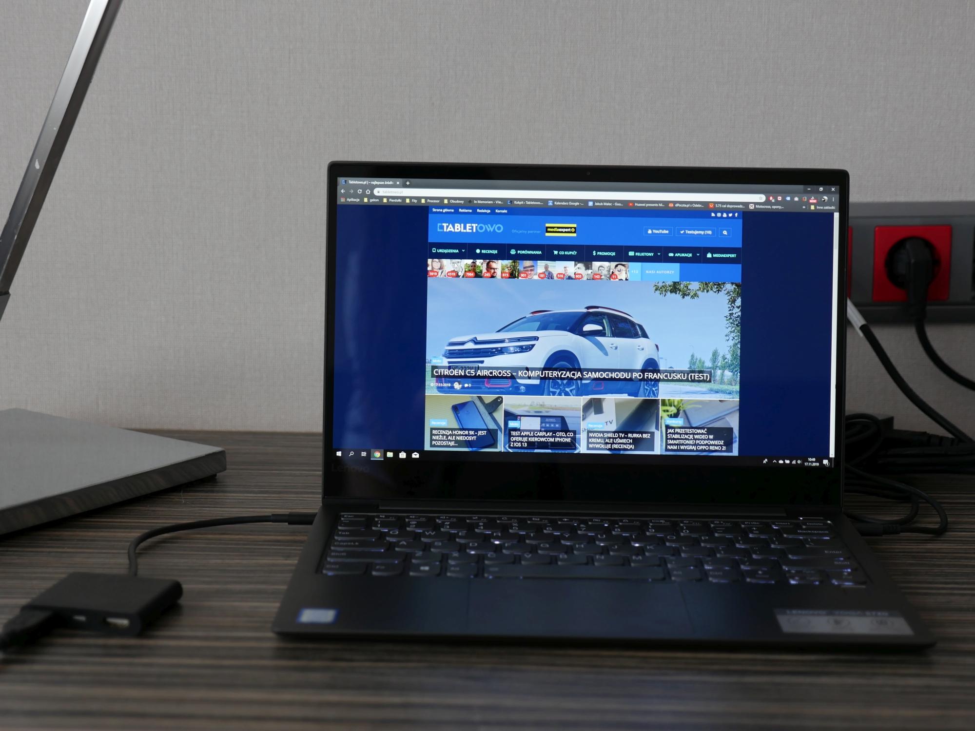 Lenovo Yoga S730 - wierny kompan wszelakich podróży