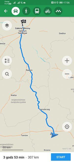 Testujemy nawigacje na Androida dostępne w Huawei AppGallery - co jeśli nie Google Maps? 49